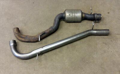 Seat Leon Cupra K1 Mk2 1P Centre resonator mid silencer delete pipe deres pipe