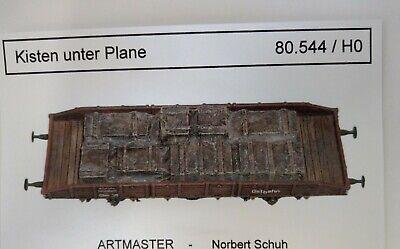Artmaster 80.745 Ladegut Kübelwagen und Treibstoff verladen  H0 1:87 Resin