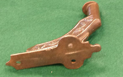 6 Stair Hand Rail Holders Cast Iron Vintage Scarce Decorative Mountng Clips #115 4