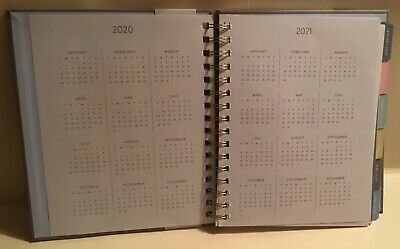 2020 Eccolo 12 Months Weekly Monthly Agenda Planner Calendar - The Master Plan 3