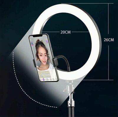 Anello Luminoso Treppiedi Video Riprese Fotografia Trucco Videomaking Cellulare 4