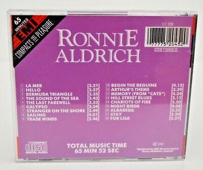 Emi/Compacts For Pleasure: Ronnie Aldrich His Piano & Orch Cd - Great Condit! 2