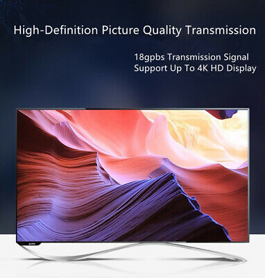 Cable hdmi 2.0 4K 60Hz ultra HD 2160p 3D Full HD HDTV HDR 18GB 1,5 2 3 5 10 30 m 10