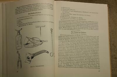 Fachbuch Medizinische Instrumentenkunde, Operationskunde, Chirurgie, DDR 1956 8