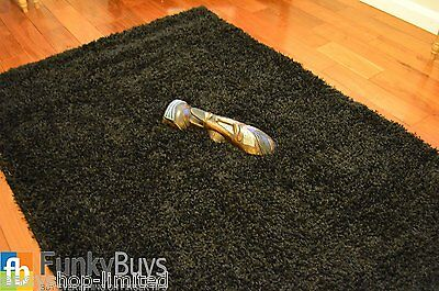 Small Large XL Size Thick Plain Soft Shaggy Rugs Non Shed Modern High Pile 8