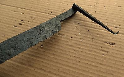 Good Medieval Scraper Tool 12-15 AD Kievan Rus with Mark 5