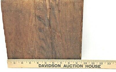 Antique Oak MANTLE COLUMN  post reclaimed fireplace salvage *B27* 4