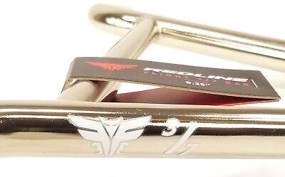 "REDLINE Flight 3//7 Bar CrMo BMX Bike Handlebar BLACK 28.5/""//8.5/"""