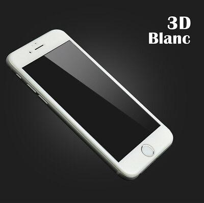 VITRE VERRE TREMPE 3d Film protection écran tactile iPhone X/S/MAX/8/7/6/Plus XR 7