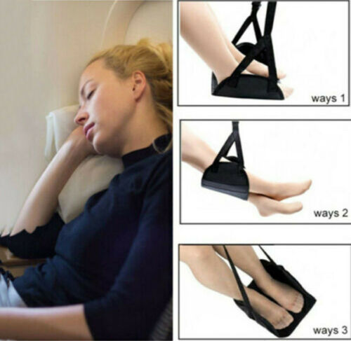 Comfy Hanger Travel Airplane Footrest Hammock Foot Made with Memory Foam Premium 5
