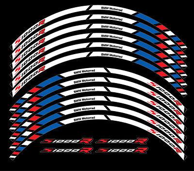 bmw s1000r motorrad felgen rand aufkleber set rim stickers. Black Bedroom Furniture Sets. Home Design Ideas