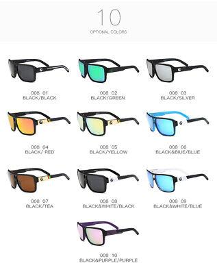 DUBERY Men Women Polarized Sunglasses Outdoor Sport Driving Fishing Shades UV400 8