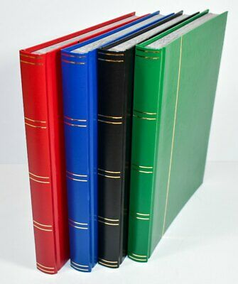Large A4 Stockbook - Stamp Album 32 Black Pages - Hardback Cover 5