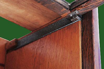 Globe Wernicke/macey Wooden Door Track Retaining Stop/brads Limits Door Travel 2
