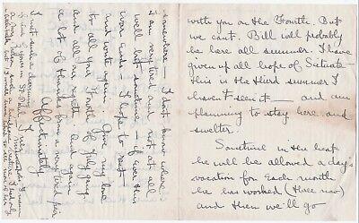 1918 Autograph Signed Letter Suffragette Feminist - Inez Haynes Gillmore Irwin 2