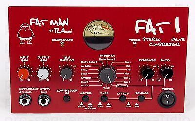 TL Audio Fat Man FAT 1 Stereo Valve Compressor + Neuwertig + 1.5 Jahre Garantie