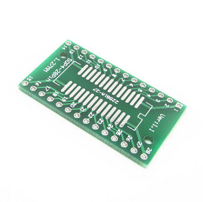 10Pcs 36mmx20mm SOP28 SSOP28 TSSOP28 to DIP28 PCB Adapter Converter