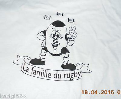 f0d19074f9bd9 TEE SHIRT RUGBY personnalise nouvelle marque taille XL - EUR 10,00 ...