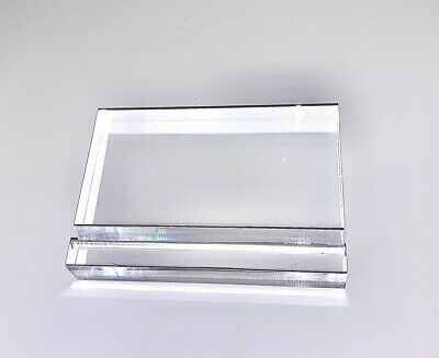 Acrylic Paperweight and Business Card Holder 4