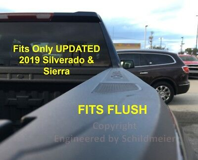 Stake Pocket Covers Caps Plugs 2019-2020 Silverado Sierra Bed Rail Accessories 8