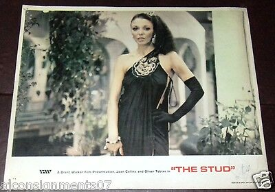 Set Of 7 The Stud Joan Collins 11x14 Uk Original Lobby