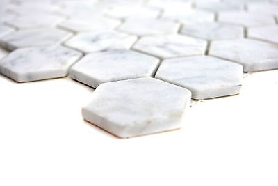KEM Mosaik Hexagon Carrara matt G1 256 x 295,5 mm Wand Innen Aussen Nass