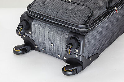 20 inch 40L Luggage Trolley Travel Bag 4 Wheel suitcase Cabin Carry On