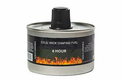 Heat Chafing Dish Fuel Re-usable 4 Hour or 6 Hour Burn time 2