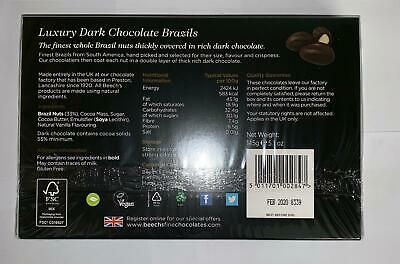Beech's Luxury Dark Chocolate Brazils 140g (Pack of 2) 3