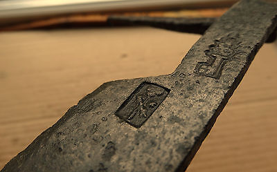 Good Medieval Scraper Tool 12-15 AD Kievan Rus with Mark 2