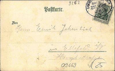 Frankenberg Sachsen Litho-ak Um 1900 Königliches Lehrer-seminar Schule Bahnpost Ansichtskarten Sachsen