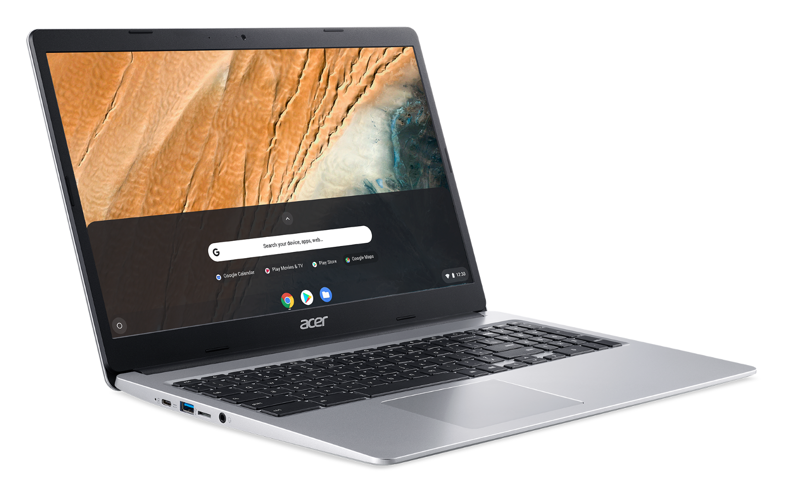 "NEW Acer Chromebook 15.6"" HD Intel N4000 4GB RAM 32GB eMMC + Protective Sleeve 2"