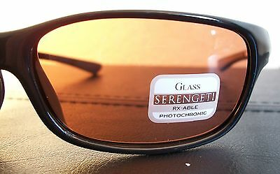 81db97bcdc0b 3 of 11 Serengeti 6752 Cascade Sunglasses Drivers Lens Shiny Black Frame  New w/Case Box