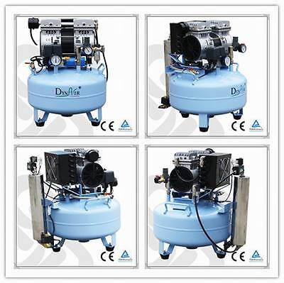 Dental Noiseless Oilless Air Compressor DA5001D With Air Dryer CE FDA approved 4