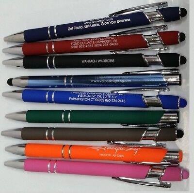 5lb Box Of Assorted Misprint Ink Pens Bulk Ballpoint Pens Retractable Metal Lot 2