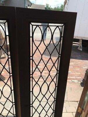 Sg 2398 Two Available Priced Each Antique Zinc Constructed Transom Window