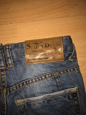 Two pairs of Boys Zara adjustable waist Jeans Aged 5-6 Years 7