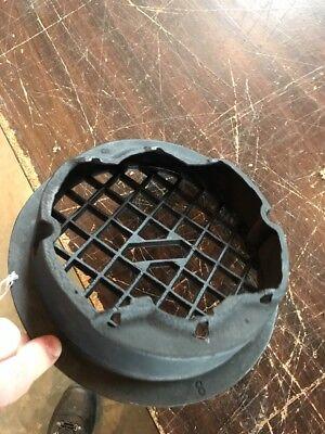 T 13 Antique Round Heating Grate No Fins 9 3/8 3