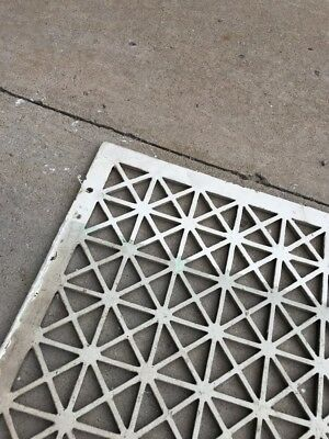 The antique cast-iron heating great face or cold air return 26.25 x 32.25 3