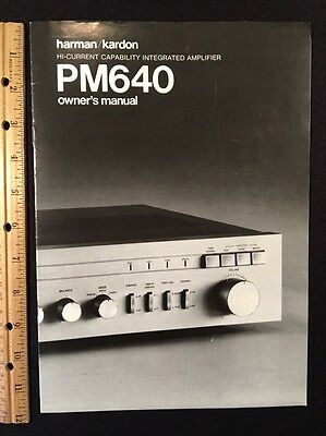 Pm640 harman kardon