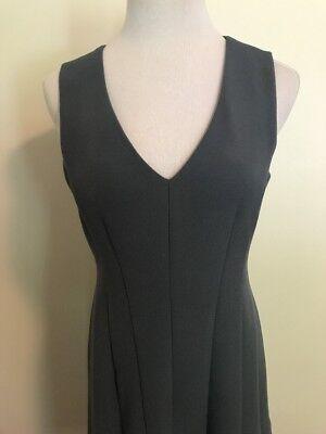 e09c1f59fe14 ... Ann Taylor Loft Blue sleeveless A-line flare dress Medium Size 8 Lined  women's 2