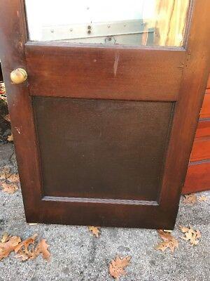 Hol 3 Antique Oak Entrance Door 32 5/8 X 82.5