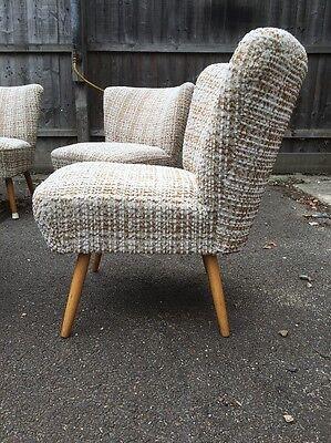 Original german Bartholomew  Mid Century Tub Cocktail Chair Loft Cafe  50/60 8 • £195.00