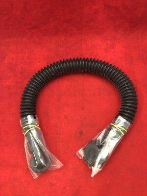 "NEW 32/"" Nonmetallic Breathing Tube Hose Assembly MIL-DTL-117H Gas Mask"