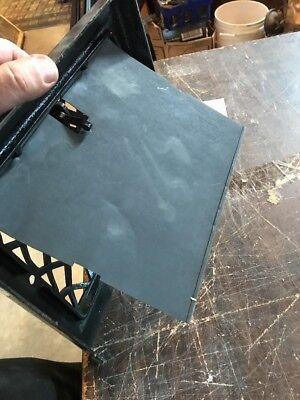 P 12 antique crosshatch floor to wall mount heating grate 10.75 x 11 5/8 7