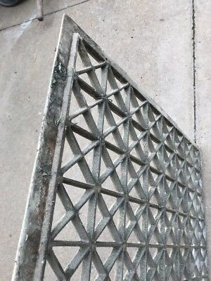 The antique cast-iron heating great face or cold air return 26.25 x 32.25 10