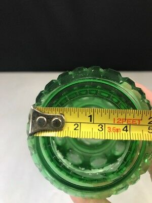 Lamp Stem Cut to Clear Part Oil Electric Bohemian Green 8