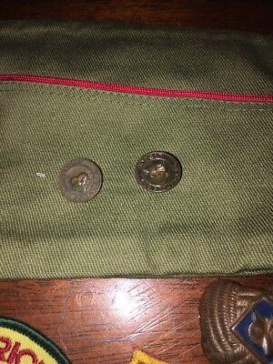 Boy Scout Hat Size M  & Pins,Patches Lot