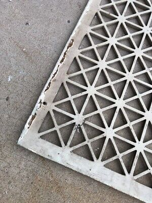 The antique cast-iron heating great face or cold air return 26.25 x 32.25 2