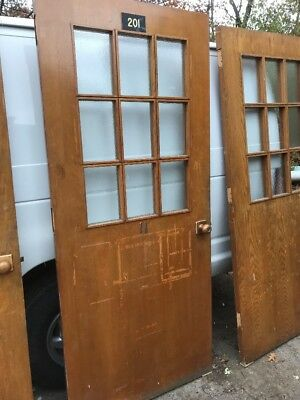 H06 Matching Antique Oak Entrance Doors Passage Doors Price Separate 36 Inch